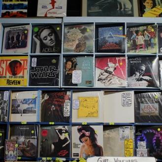 Record Finder vinyl wall